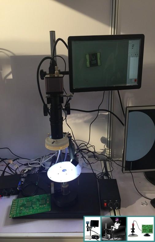 China Die direkte Schirm-Menü-Labormikroskop-Kamera schließen an Monitor an Lieferant
