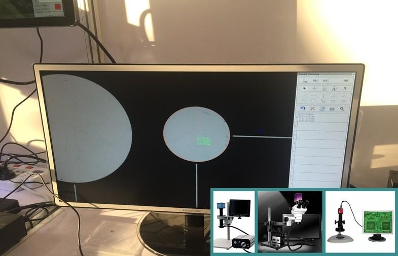 China O automóvel inspeciona a construção da câmera do microscópio do contraste e da análise HD no processador central fornecedor