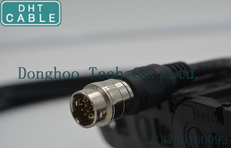 China Koaxial-12 Pin-Mann zum weiblichen verbundenen hirose Kabel/zu den analogen Kabeln für Sony-Kamera Lieferant