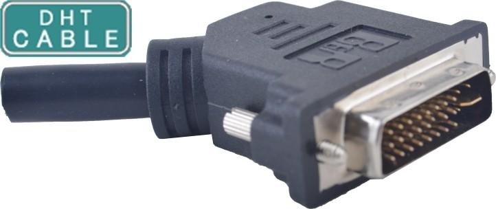 China SCSI modificado para requisitos particulares telegrafía/el vínculo dual de las asambleas de cable DVI o el solo vínculo los 0.5m a 5meters proveedor