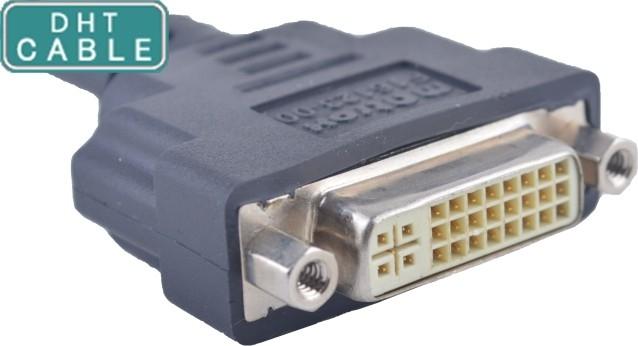 중국 OEM DVI 케이블 접합기/주문 케이블 어셈블리 Straigth 또는 R/A 조형 유형 협력 업체