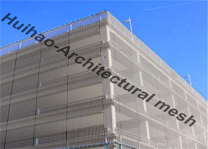 Spraying Color Flexible Mesh Type Privacy Ceiling Panel With Replaceable Frame