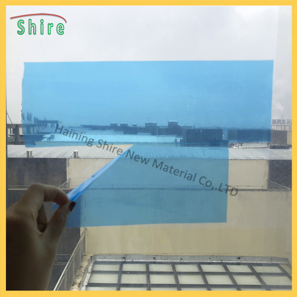 blue glass protection tape film