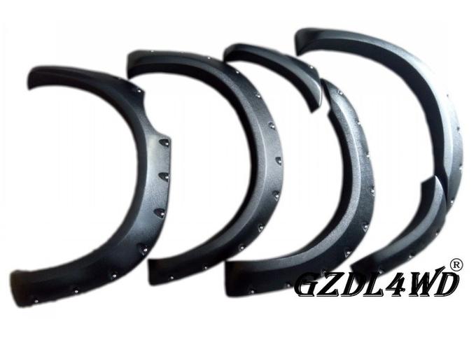 Universal Car Fender Flares For  Ranger T6 T7 Wildtrak 2012 - 2018 Pocket Style