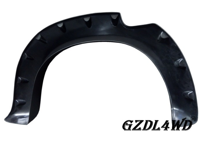 Pocket Style Off Road Fender Flares Textured Black For Toyota Hilux Vigo 2005 - 2011