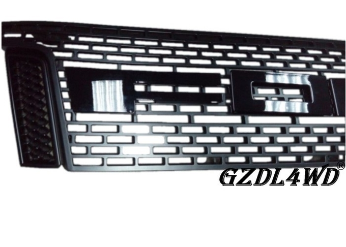 2012 2013 2014 Custom Front Grill Mesh Chrome For  Ranger OEM / ODM