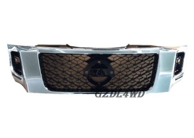 Navara NP300 Truck Car Grill Mesh Sheets , Nissan Frontier Brush Guard 2015