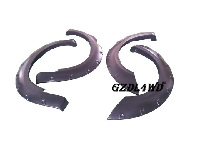 Black 4x4 Wheel Arch Flares Accessories For Nissan Navara Frontier D40 05 - 12