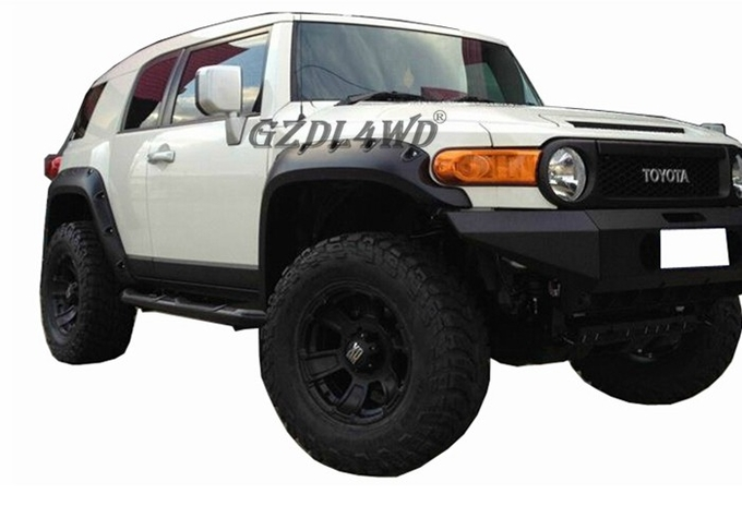 FJ Cruiser Accessories ABS Plastic Wheel Arch Flares For Toyota 4x4 07-15