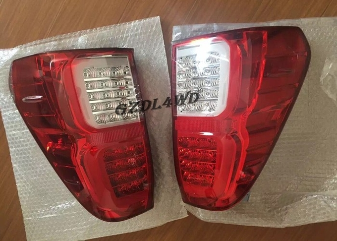 Plsatic Smoked Black LED Tail Lamp For Dmax 12 19 / Isuzu Dmax Accessories