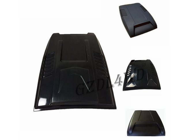 Washer Cut Outs No Mesh Car Hood Scoop Cover For Ford Ranger T6