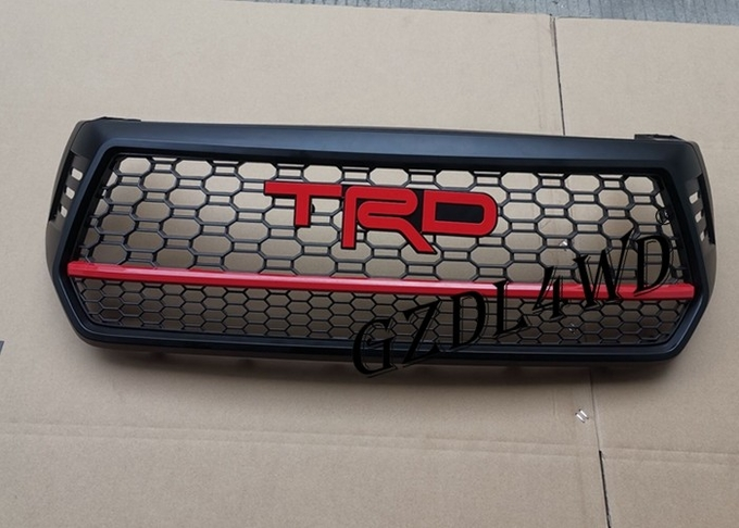 Elegant Toyota Logo Front Grill Mesh For Hilux Revo Rocco 2018 Raptor Conversion Style