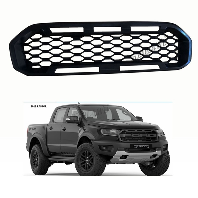 Car Front Grille Without Letter Logo For Ford Ranger 2018 2019 Px3 Xl Raptor