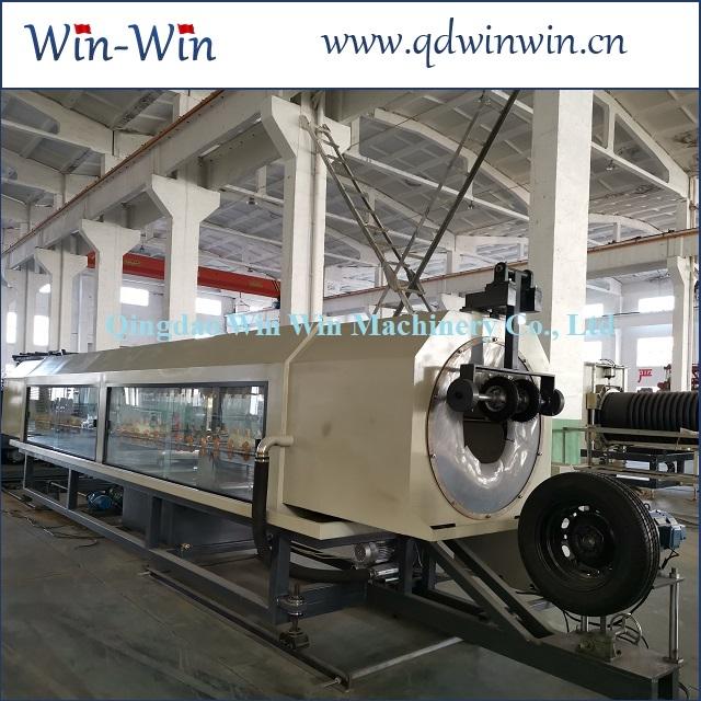 Станок производства двухслойных канализационных гофротруб из ПЭ 200-600мм 2