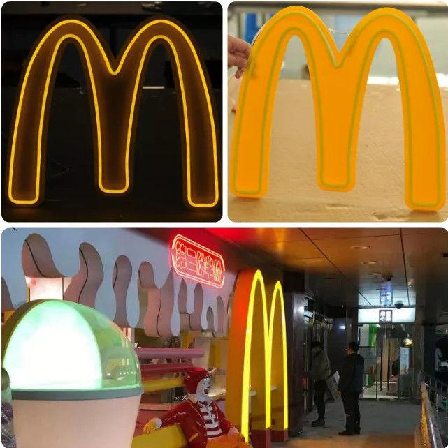 Milk tea shop  neon sign  color billboard Drop shinpping No MOQ 5