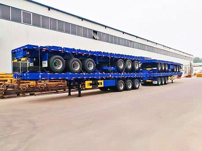 Genron large cargo trailer factory bulk production-12
