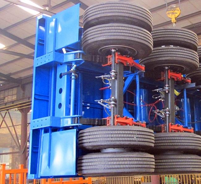 Genron large cargo trailer factory bulk production-15