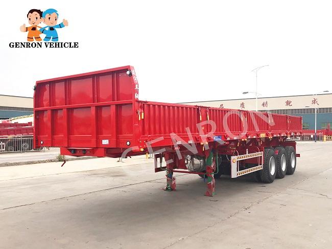 Genron large cargo trailer factory bulk production-2