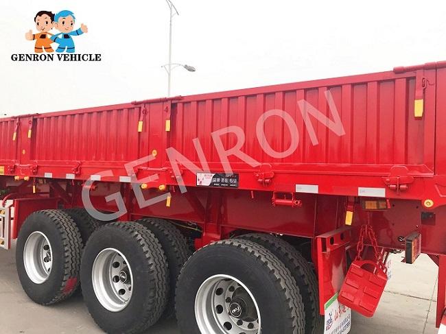 Genron large cargo trailer factory bulk production-4