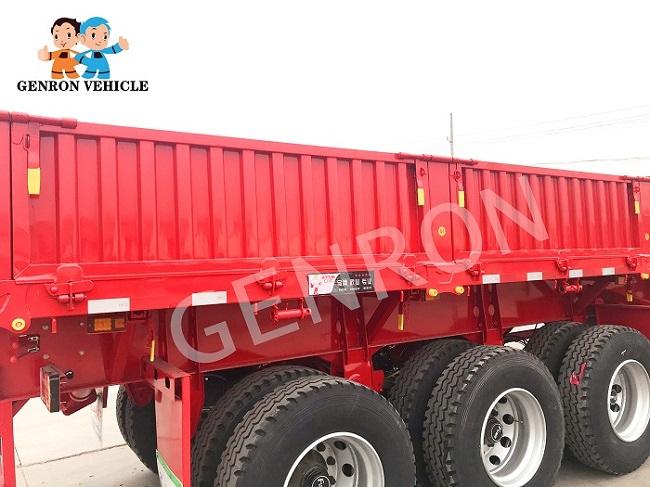 Genron large cargo trailer factory bulk production-6